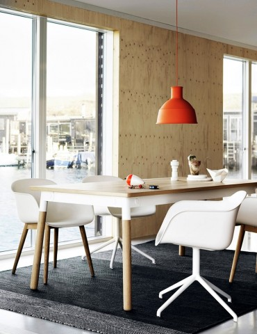 Muuto unfold pendant lamp with a warm and modern appearance the choice of material and variety of available colours makes unfold an affordable design lamp suitable for multiple mozeypictures Images