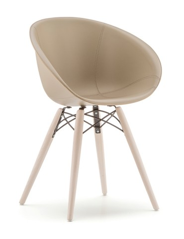 Pedrali Gliss Wood 904 Chair