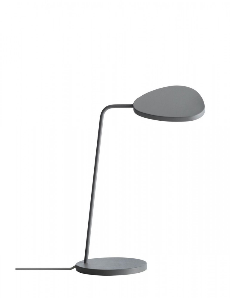 The table lamp leaf of muuto successfully combines a light and elegant design with an efficient energy led technology the design of leaf table lamp is