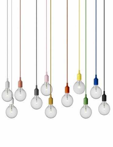 Muuto e27 pendant lights ceiling lamps lighting design the lamp can be used as a single light source in pairs rows or even in clusters to create a modern scandinavian chandelier aloadofball Choice Image