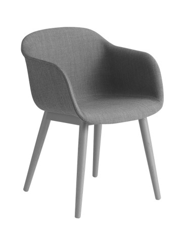 Muuto Fiber chair Wood base...