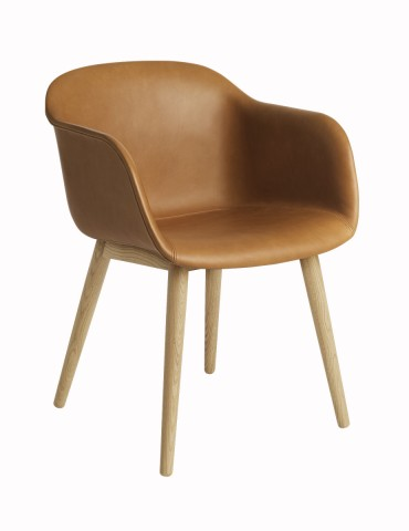 Muuto Fiber Chai Wood base...