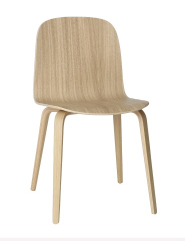 Chair Muuto Visu Wood Base