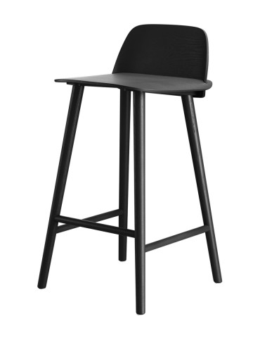High Bank Muuto Nerd Bar Stool