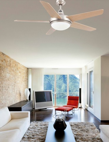 Faro Ovni Ceiling Fan With...