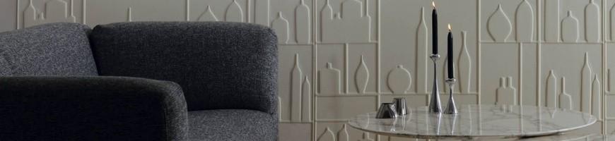 Decoração com Papel de parede Texturizado