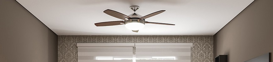 Modern ceiling fans with lights for interior design