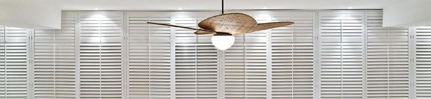 Ventoinhas de Tecto com luz para decoração de interiores
